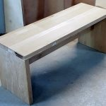 Holz-Sitzbank-Eiche